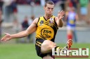 Versatile Colac Tigers defender Alex Adams will miss season 2012 to travel Europe.