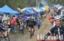 About 400 riders contested the Forrest Six-Hour marathon.