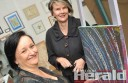 Colac Area Health's  Maureen Hayes, left, and Maude Berry will host an art therapy course for people with alcohol and drug issues.