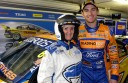 Colac grandmother Delwyn Parker and racing driver Will Davison are an online hit.