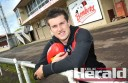 Colac district AFL export Jackson Merrett has enjoyed time off back at home at Cobden.