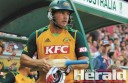Colac's Aaron Finch made 135 runs against England in the opening game of cricket's World Cup.
