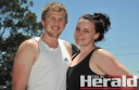 Colac duo Ben Waldron and Sarah Van Es will compete in their second GMHBA Mountain to Surf at Lorne on Friday.