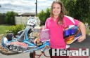 Colac's Jaymi Mackay won an Australian Karting Association national title in New South Wales.
