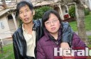 """Colac couple Shengxing Huang and Xuezhen """"Sue"""" Qiu are fighting to stay in Australia."""