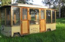 Thieves stole a motorised tram from Separation Creek.