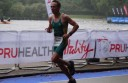 Craig Davis in action in London's World Triathlon Grand Final.