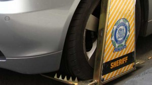 Authorities clamped vehicles and dished out more than $30,000 in fines.