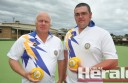 Camperdown lawn bowlers Gary Body and Matt Brewer will represent the Corangamite Bowls Division at regional pairs finals.