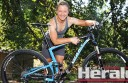 Forrest mountain bike rider Jessica Douglas will aim to become the first person to win four WEMBO World Solo 24-hour Mountain Bike Championships.