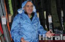 Peter Gavens says raincoats have been popular at his Get Lost Outdoors store due to the district's wet weather during the last half of 2013.