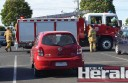Firefighters search for children reported locked in a hot car in Colac.