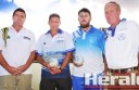 Simpson's Scott Harris, Apollo Bay's Fred Welsh, Colac's Will Collihole, Winchelsea's Peter McConachy and their teammates are gearing up for Corangamite bowls' Saturday Pennant finals, which start tomorrow.