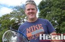 Cororooke tennis player Darren Rosevear claimed a Polwarth district tennis singles championship in his second year back in the sport after almost two decades.