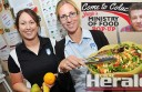 Colac Area Health dietitian Tarryn Thom, left, with colleague Claire Dagley.