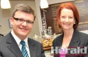 Member for Corangamite Darren Cheeseman has become the first federal Labor MP to publicly urge Prime Minister Julia Gillard to step down.