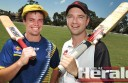 City United captain Sam Cardinal and Irrewarra's Dave Jackson will lead their teams into a Colac district Twenty20 grand final this weekend.