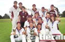 Stoneyford won its first Colac District Cricket Association Division One flag yesterday. The Maroon Caps have been in the CDCA since 1982.