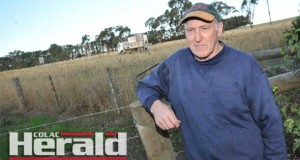 Colac district's Noel Hanlon says VicRoads' plans for a Princes Highway duplication to Colac should share the land-acquisition burden more evenly between landholders on both sides of the highway, rather than from one side only.