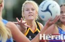 Defender Paige Mason's return to Simpson has helped boost the Tigers and assisted in evening up Colac district netball's A Grade competition.