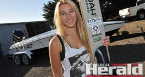 Winchelsea water skier Holly-Jade Praszczalek will aim to break a fifth record of the season this weekend