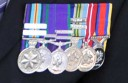 Someone took these war medals from a Colac veteran's home.