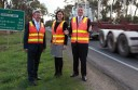 Polwarth MP Terry Mulder, Corangamite MP Sarah Henderson and Premier Denis Napthine this week confirmed $362-million funding for a Princes Highway upgrade between Colac and Winchelsea.