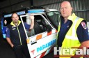 Ambulance Victoria south-west group manager Gary Castledine, left, and Colac team manager Duncan Erwin have refuted a flyer's claims that there are  problems with the ambulance service in Colac. Mr Erwin says he's confident Colac has high ambulance expertise for a community of its size.