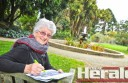 Colac's Helen Paatsch is writing a history of the Colac Botanic Gardens.