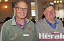 Roadsafe Otway members Ray Piera, left, and new chairman Glenn Rippon attended the group's annual meeting.