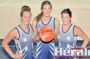 Colac Tigers trio Riley Stephens, Brooke Allan and Tahlia Jeffreys will join their Geelong Cougars under-19 teammates for Victorian Netball League finals, which kick off tonight.