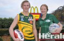 Junior footballer and netballers, including Stewart McCann and Dallas Williamson, will represent the Colac district in interleague matches this weekend.