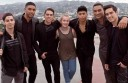 Colac's Emily Davis won a trip to Los Angeles in the United  States and got to meet members of Australian band Justice Crew.