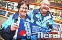 Colac husband and wife Jeanette and Harvey Robbins have represented Victoria in indoor bowls for more than 20 years. The bowlers, who won a state mixed fours pennant this year, will represent the state again in August with Colac's Chris Price.