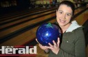 National ten-pin bowling officials have encouraged Colac teenager Nadine Oborne to try out for a state team after she won a national youth cup.