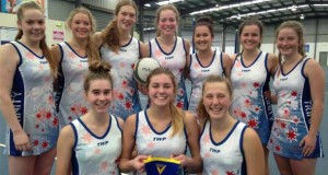 rinity Collage Colac netballers, back from left, Lily Marwood, Taylor Gray, Brooke Allan, Gabi Rieniets, Caitlin Rippon, Renee Henry, Monika Hammond, front, Ellie Loughnane, Maggie Eldridge and Jessie Lang won a place in state titles.