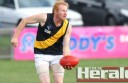 Simpson tall Corey Baulch's dominant second half of the season helped him win Colac district football's Jack Mahoney Medal.