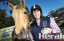 Barangarook campdrafter Penny Kerle is the South West Zone Encouragement Rider champion after only competing in the pastime for less than a year.