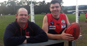 OTWAY DISTRICTS president Scott Harris says co-coaches Ross Panther and Steve Daniels' decision to stay at the club is a key to attracting football recruits.