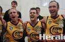 Jarryd Garner, Travis Woodmason, Ryan Monaghan, Joe Dare and their Colac Tigers teammates will hope to end a 21-year premiership drought after booking a place in this weekend's Geelong Football League grand final.
