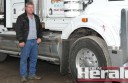Neal's Transport owner Leigh Neal says installing cameras in his trucks will improve his employees' driving and help road safety.
