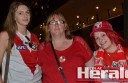 Sydney footballer Gary Rohan's sister Rebecca, mum Belinda and neighbour Amy Howarth were three of 15 Cobden residents who travelled to Saturday's AFL grand final at the MCG to watch the Swans play Hawthorn.