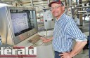 Simpson dairy farmer Wim Kampschoer is benefitting from a new automatic dairy he installed at his property.