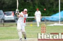 A 96-run innings from Apollo Bay veteran Darren Gill couldn't get the Sharks over the line against a fancied Colac side.