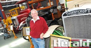 Colac vintage truck collector Merv Brunt will open the doors to his vintage truck museum next month.