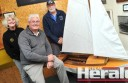 Colac Yacht Club's Pam Cuthbertson, Stephen Cartwright and Bryan Cuthbertson hope for a boost in members for the 2014-15 season, which begins tomorrow.