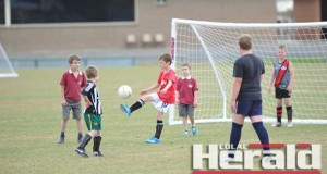 Colac Otway Rovers hope to have a junior soccer side in a Geelong competition in 2015. Aspiring juniors have enjoyed a weekly competition at Colac's Central Reserve.
