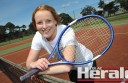 Colac Lawn tennis player Sarah Mulgrew, 18,  has enjoyed the club's switch to the Polwarth District Tennis Association in 2014-15. Colac Lawn is in strong form and sits on top of the A Grade ladder after the opening four rounds of the competition.