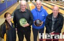 Colac 10-pin bowling officials, including Vicki Brown, Murray Spokes, Kevin Bagg and Ian Poyser are celebrating 50 years of the sport in Colac.