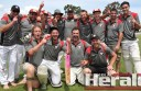Division Two cricket team Birregurra defeated City United to win Colac district's Twenty20 grand final. The Saints beat three top-grade teams to win the title.